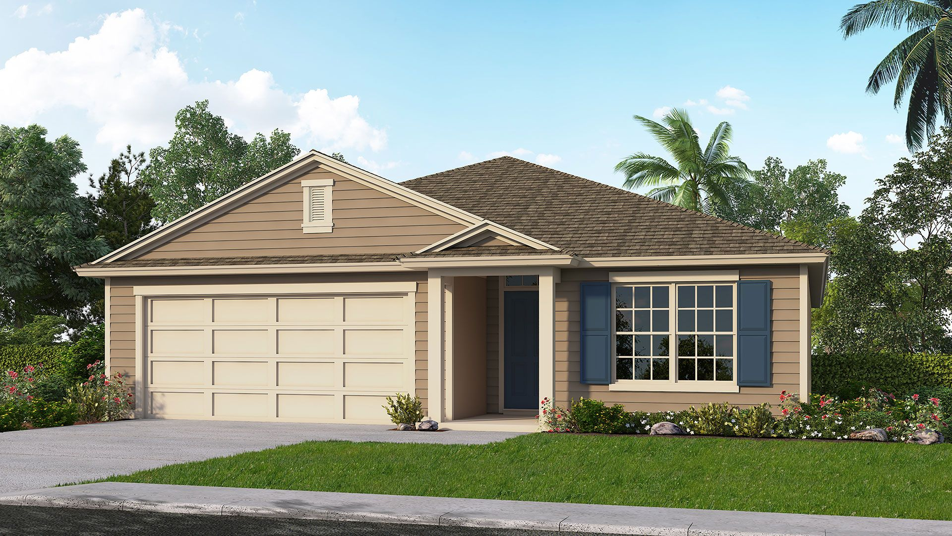 Exterior featured in the ARIA By D.R. Horton in Jacksonville-St. Augustine, FL