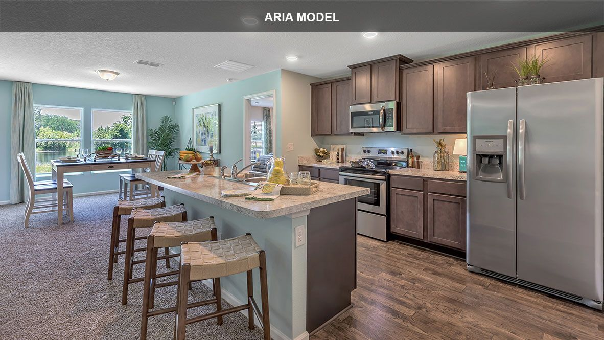 Kitchen featured in the ARIA By D.R. Horton in Jacksonville-St. Augustine, FL
