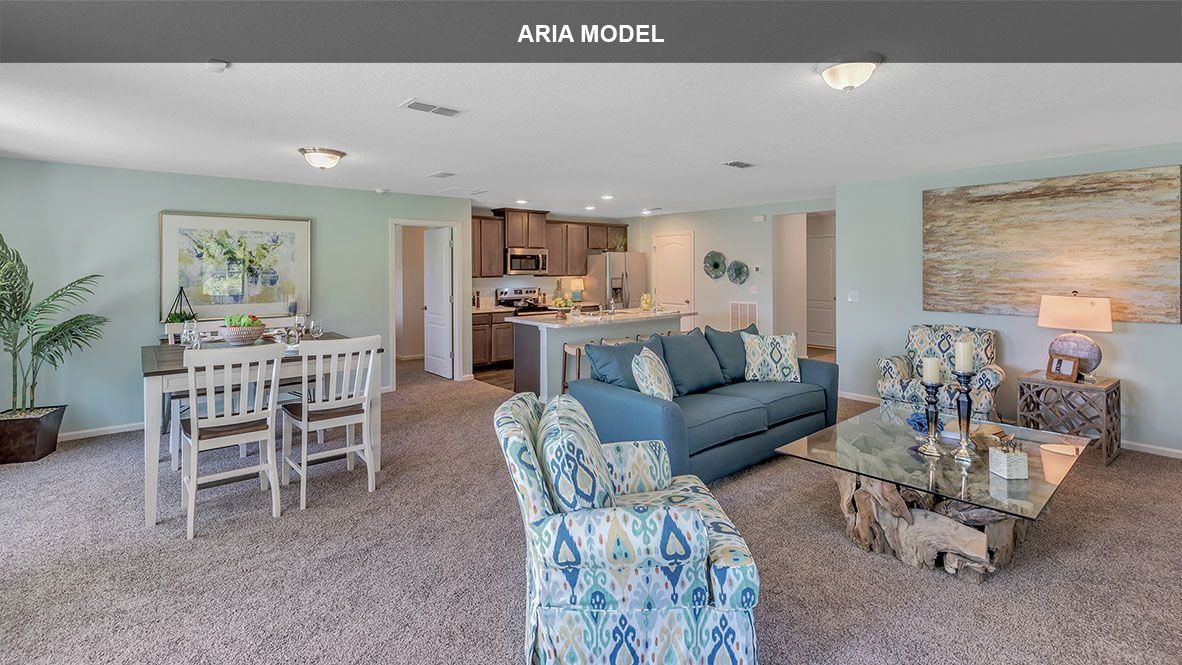 Living Area featured in the ARIA By D.R. Horton in Jacksonville-St. Augustine, FL