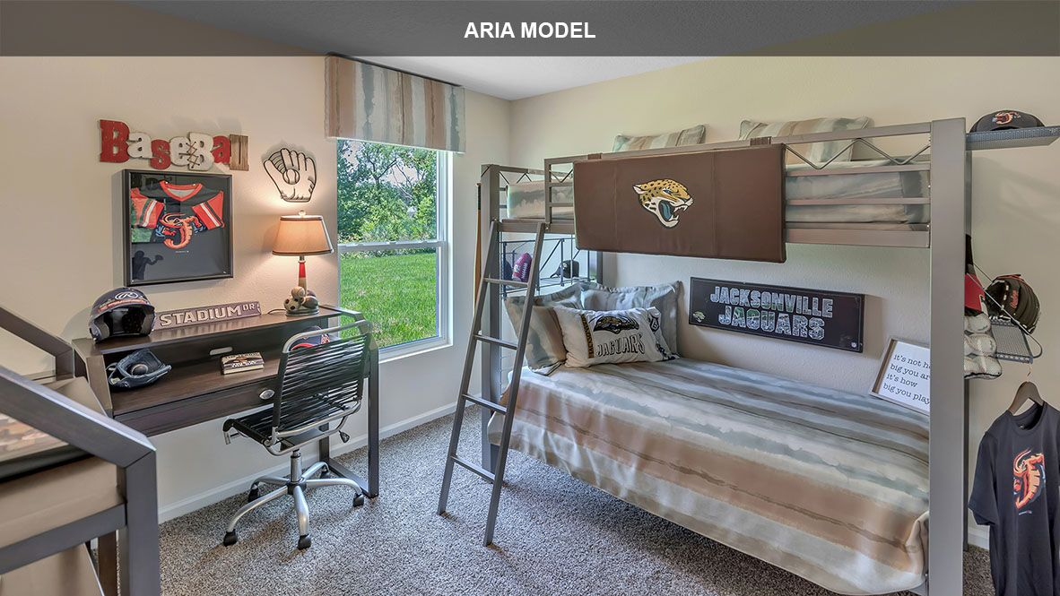 Bedroom featured in the ARIA By D.R. Horton in Jacksonville-St. Augustine, FL