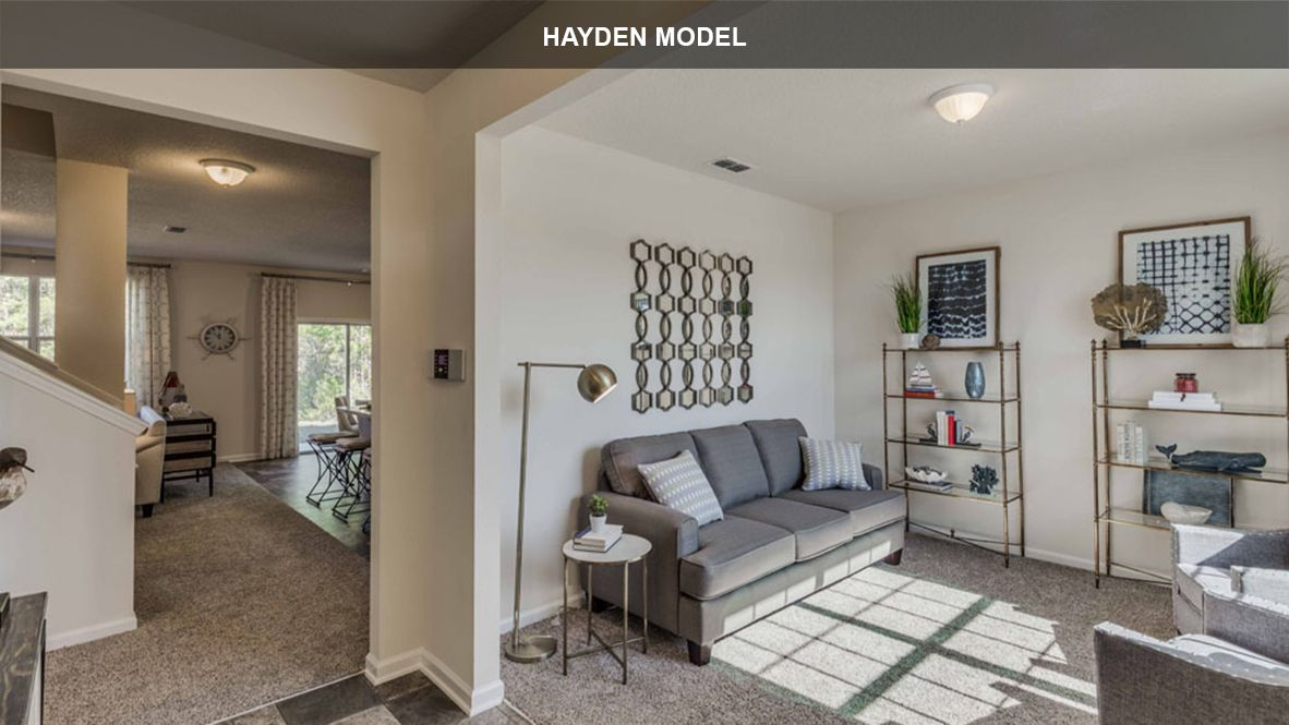 Living Area featured in the HAYDEN By D.R. Horton in Jacksonville-St. Augustine, FL