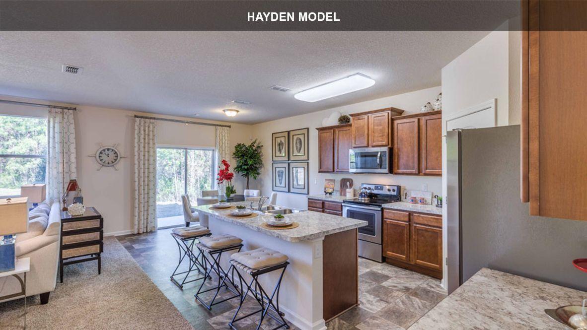 Kitchen featured in the HAYDEN By D.R. Horton in Jacksonville-St. Augustine, FL