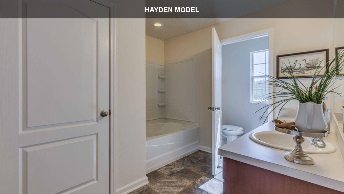 Bathroom featured in the HAYDEN By D.R. Horton in Jacksonville-St. Augustine, FL