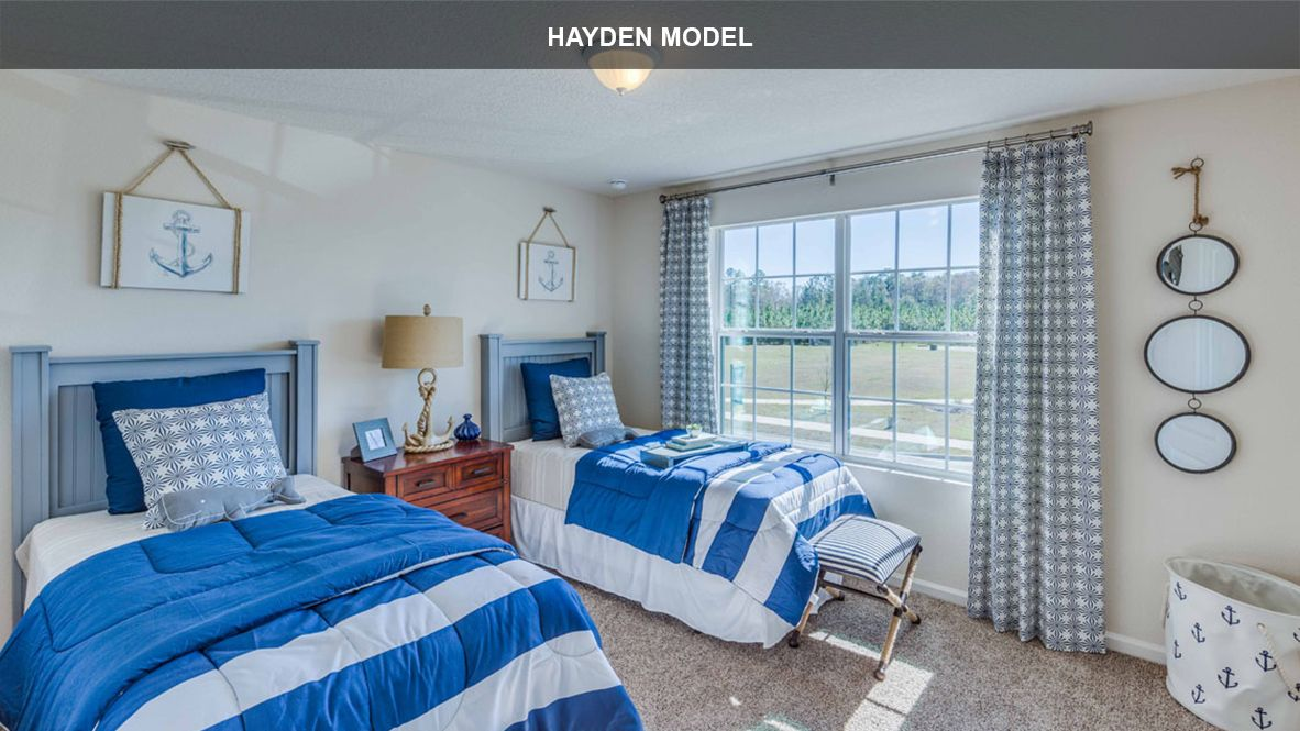 Bedroom featured in the HAYDEN By D.R. Horton in Jacksonville-St. Augustine, FL