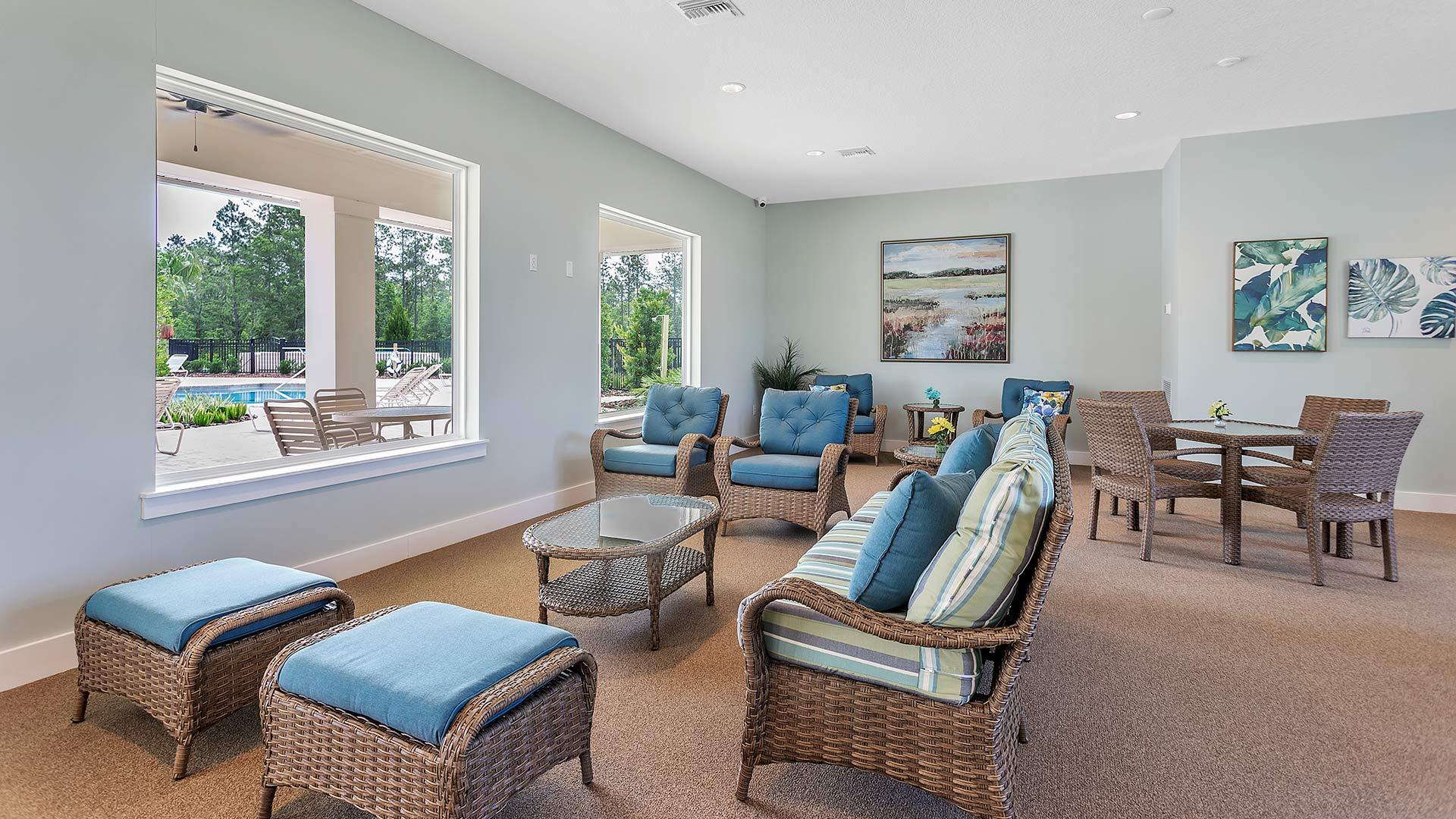 Living Area featured in the SIESTA KEY By D.R. Horton in Jacksonville-St. Augustine, FL