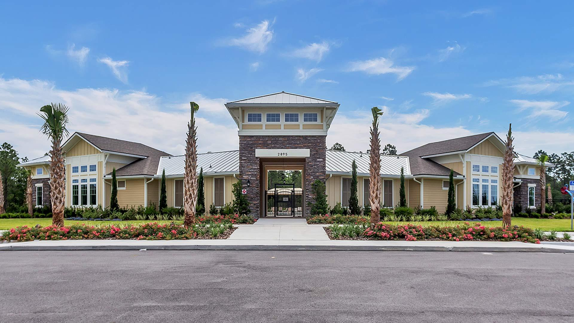 Exterior featured in the ST. GEORGE By D.R. Horton in Jacksonville-St. Augustine, FL