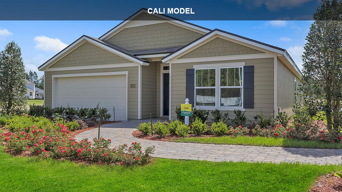 Exterior featured in the Cali By D.R. Horton in Daytona Beach, FL