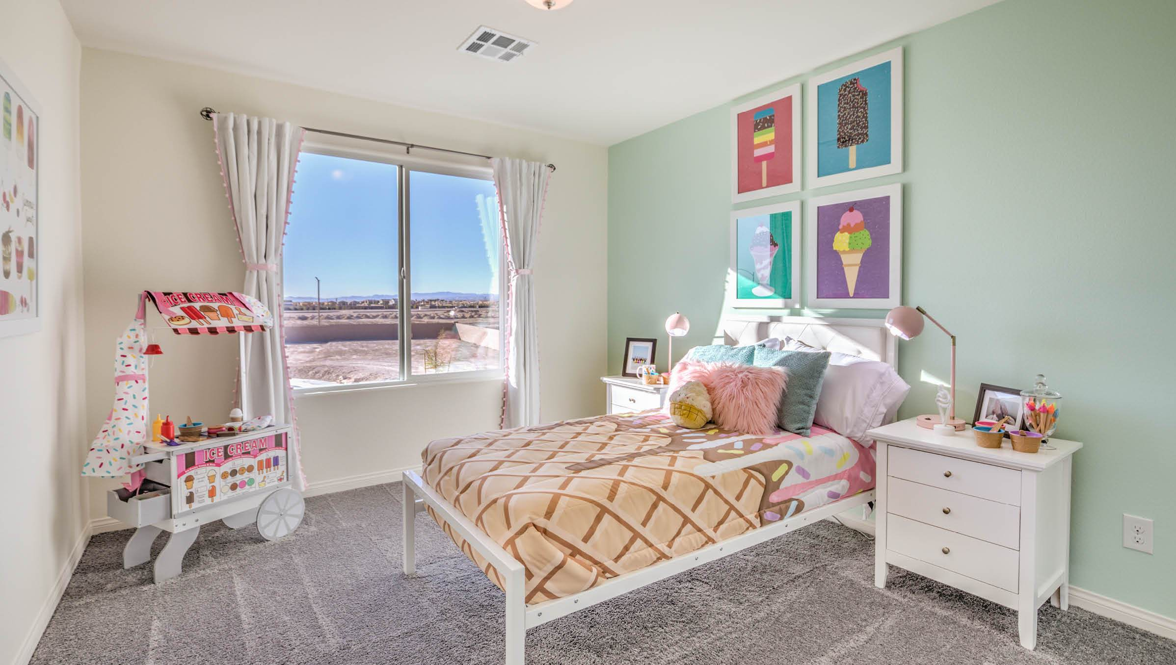 Bedroom featured in the 2433 Plan By D.R. Horton in Las Vegas, NV