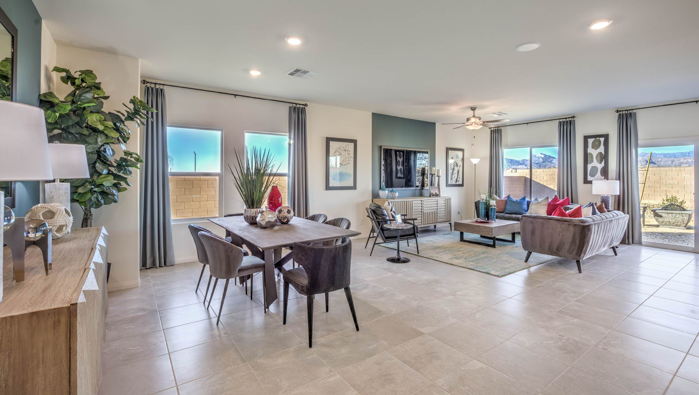 Living Area featured in the 2433 Plan (3-Car) By D.R. Horton in Las Vegas, NV