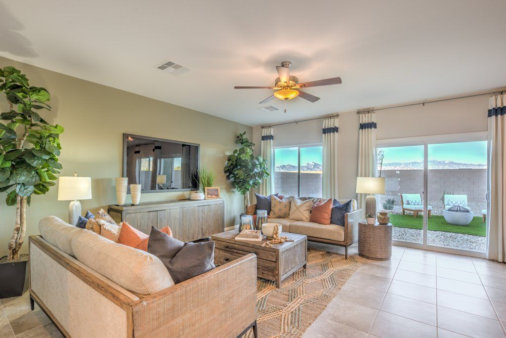 Living Area featured in the 2665 Plan (3-Car) By D.R. Horton in Las Vegas, NV