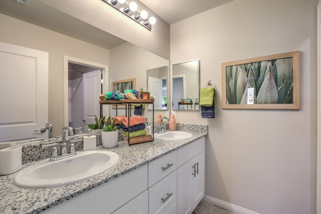 Bathroom featured in the 2665 Plan (3-Car) By D.R. Horton in Las Vegas, NV