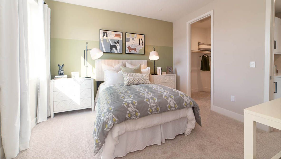 Bedroom featured in the Residence 1 By D.R. Horton in San Francisco, CA