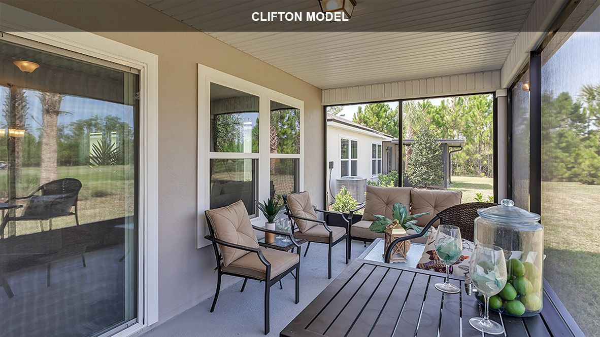 Exterior featured in the CLIFTON By D.R. Horton in Jacksonville-St. Augustine, FL