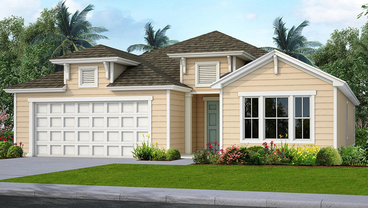 Exterior featured in the SOMERSET By D.R. Horton in Jacksonville-St. Augustine, FL
