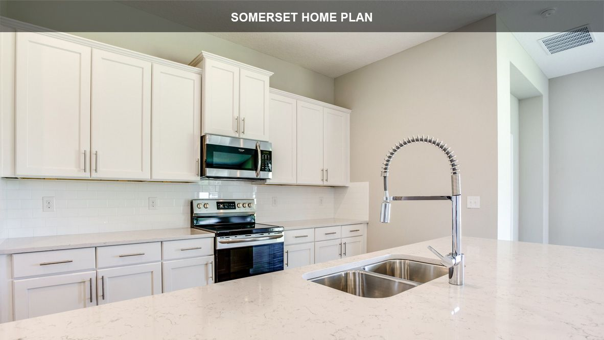 Kitchen featured in the SOMERSET By D.R. Horton in Jacksonville-St. Augustine, FL