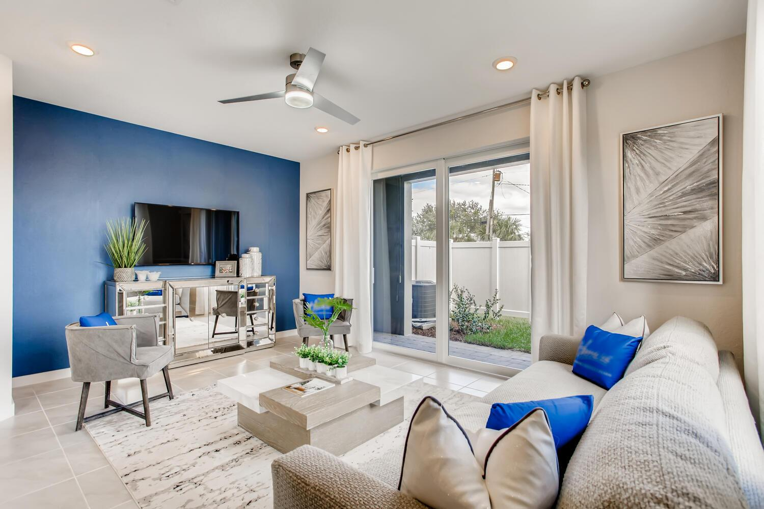 Living Area featured in the Bondi By D.R. Horton in Palm Beach County, FL