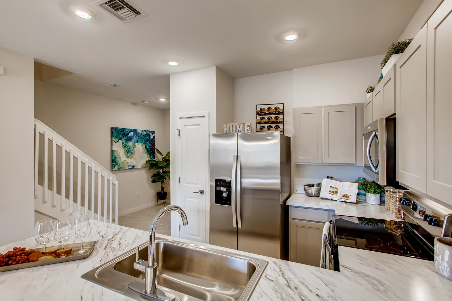 Kitchen featured in the Waverly By D.R. Horton in Palm Beach County, FL