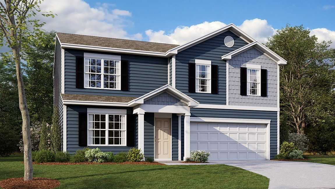 Exterior featured in the Glendale By D.R. Horton in Cumberland County, NJ