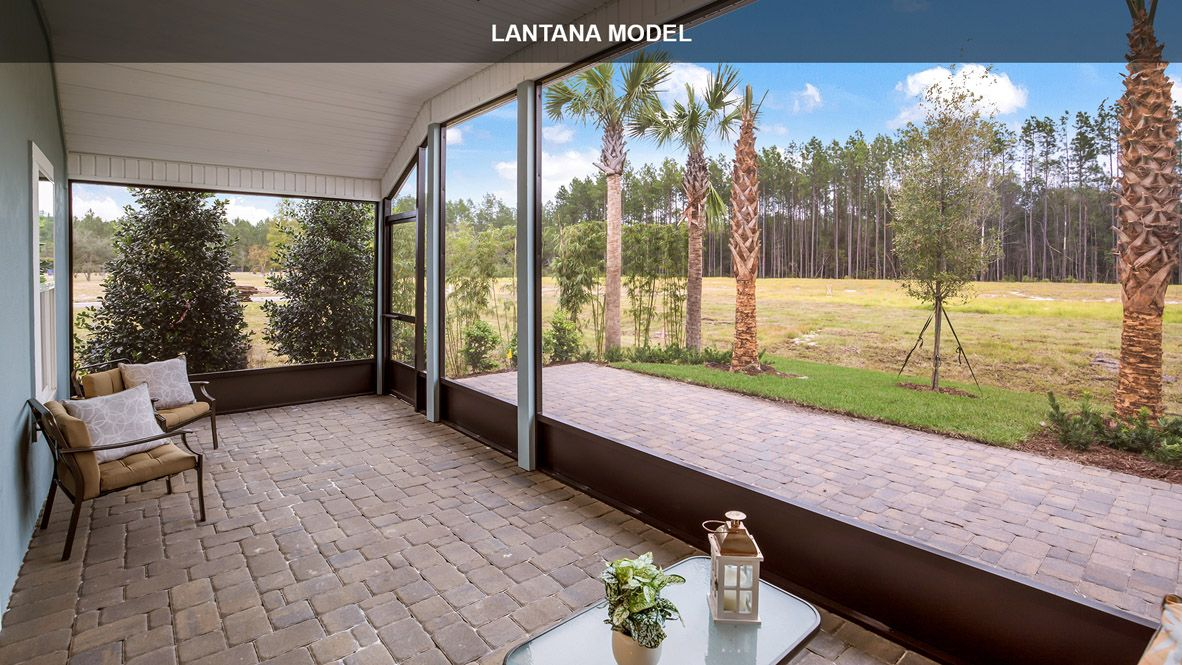 Exterior featured in the Lantana By D.R. Horton in Jacksonville-St. Augustine, FL