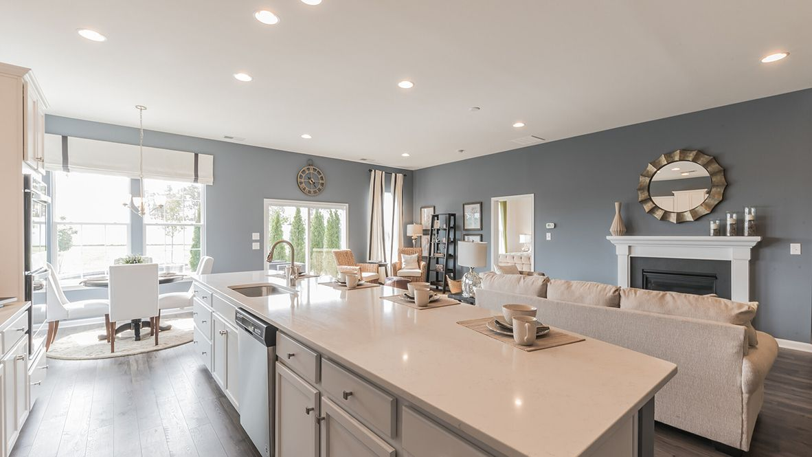 Living Area featured in the Azalea By D.R. Horton in Ocean County, NJ