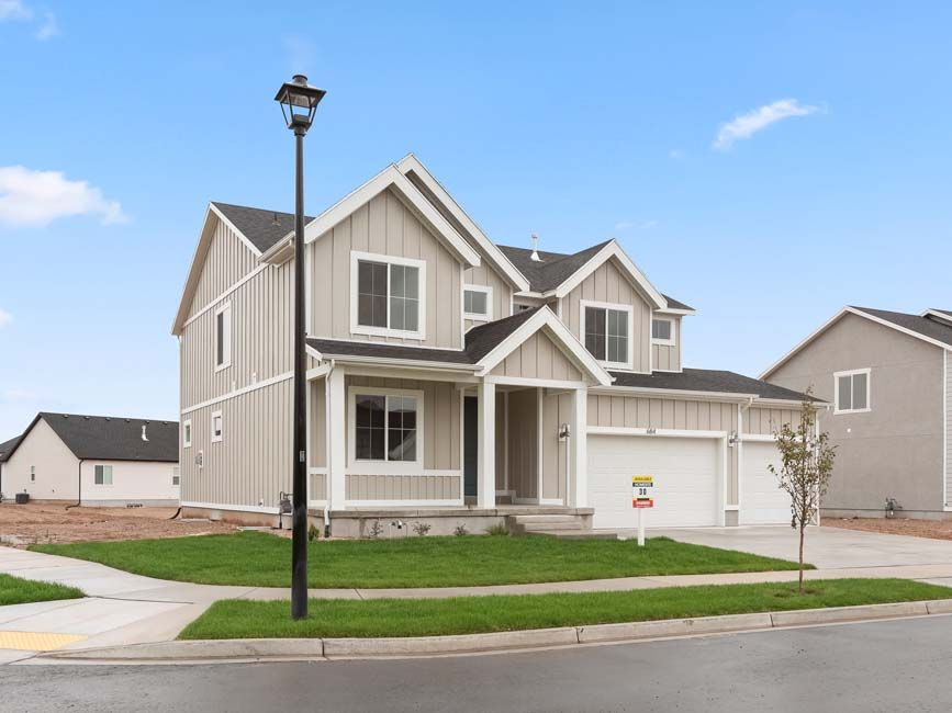Exterior featured in the Endicott By D.R. Horton in Provo-Orem, UT