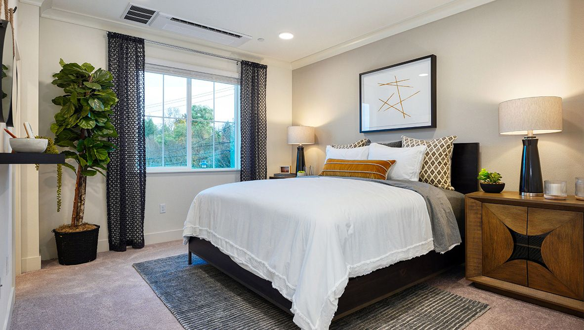 Bedroom featured in the Residence 2 By D.R. Horton in San Jose, CA