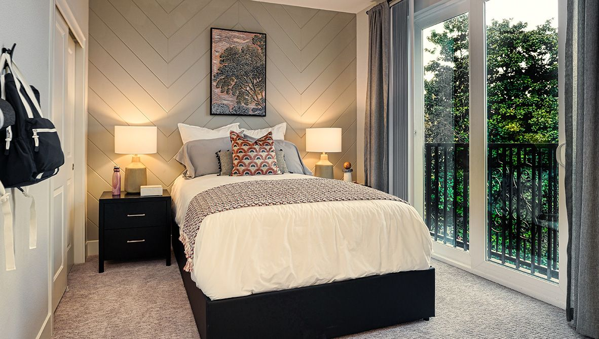 Bedroom featured in the Residence 3 By D.R. Horton in San Jose, CA