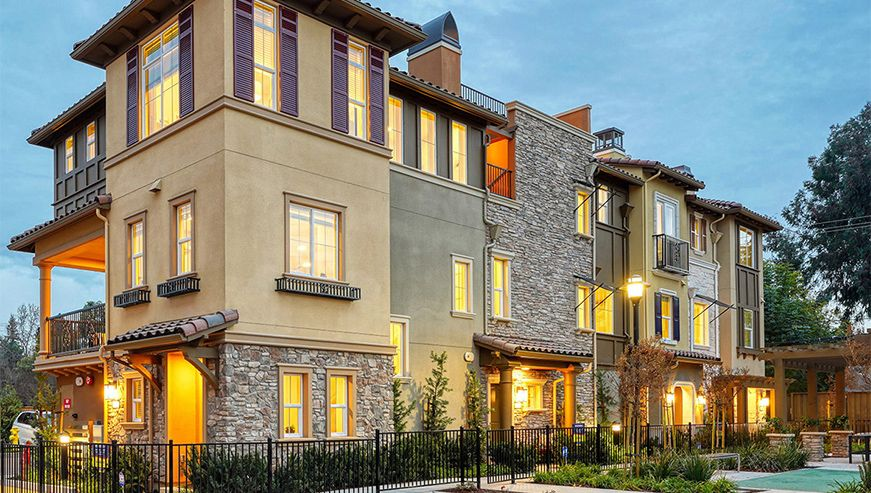 Exterior featured in the Residence 2 By D.R. Horton in San Jose, CA