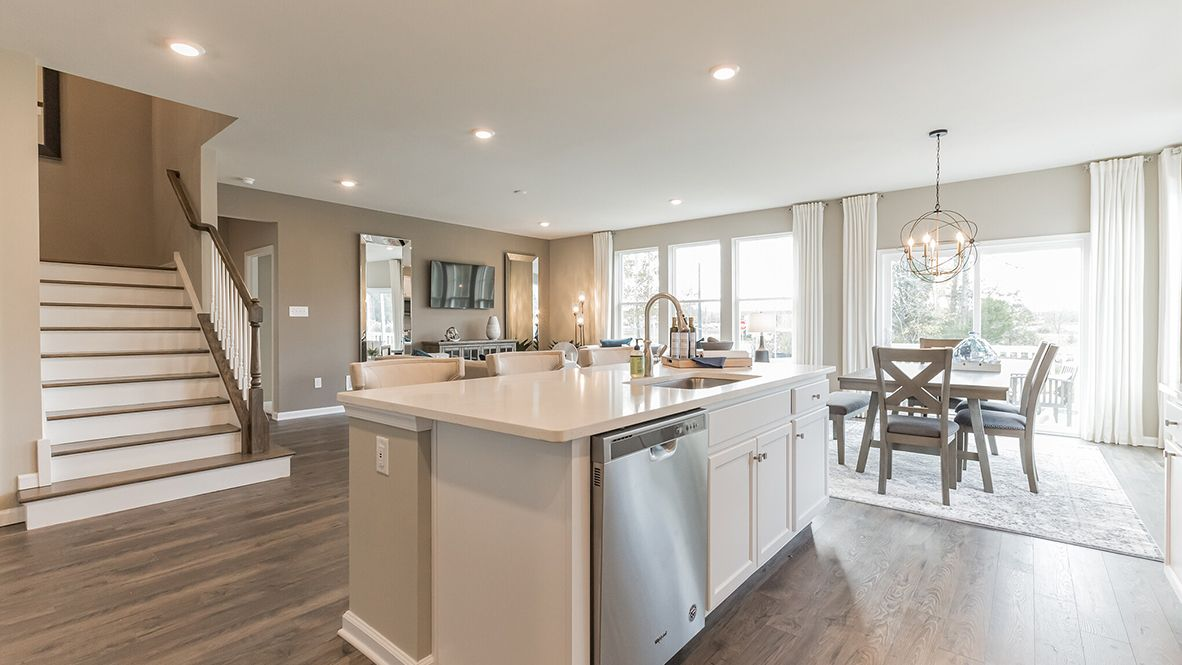 Kitchen featured in the Hampshire By D.R. Horton in Atlantic-Cape May, NJ