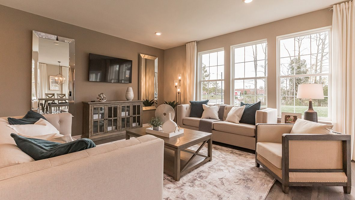 Living Area featured in the Hampshire By D.R. Horton in Atlantic-Cape May, NJ