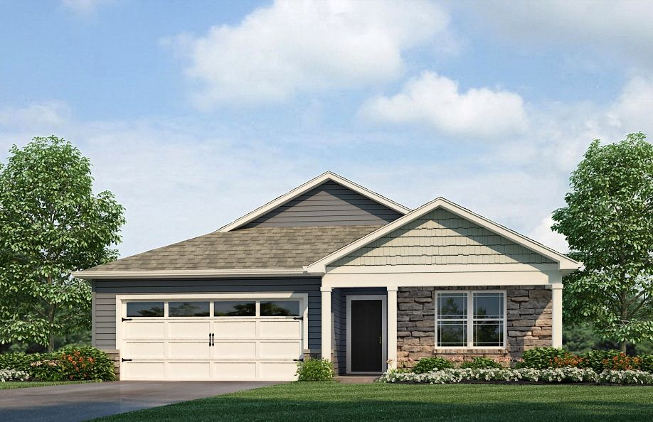 Exterior featured in the Chatham By D.R. Horton in Fort Wayne, IN
