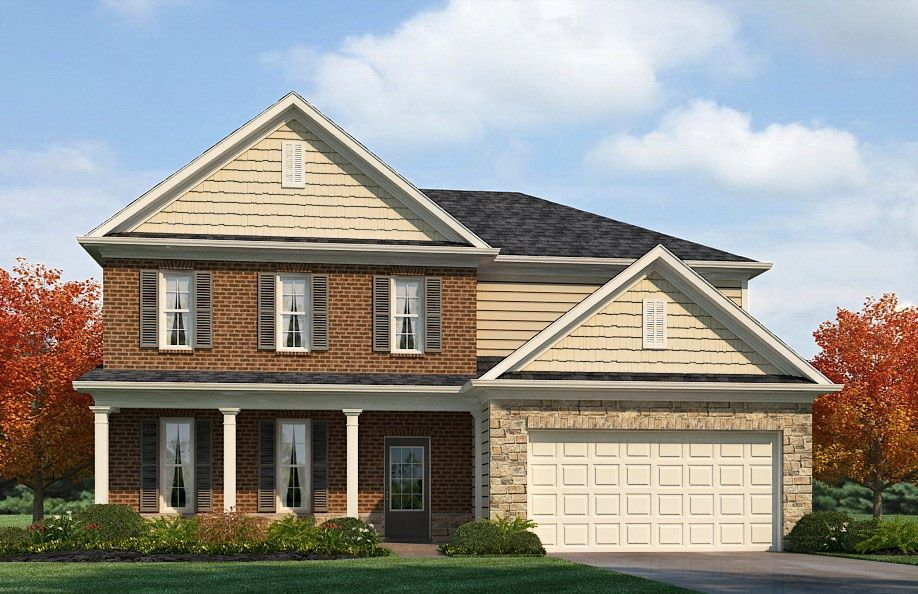 Exterior featured in the STONEBROOK II By D.R. Horton in Nashville, TN