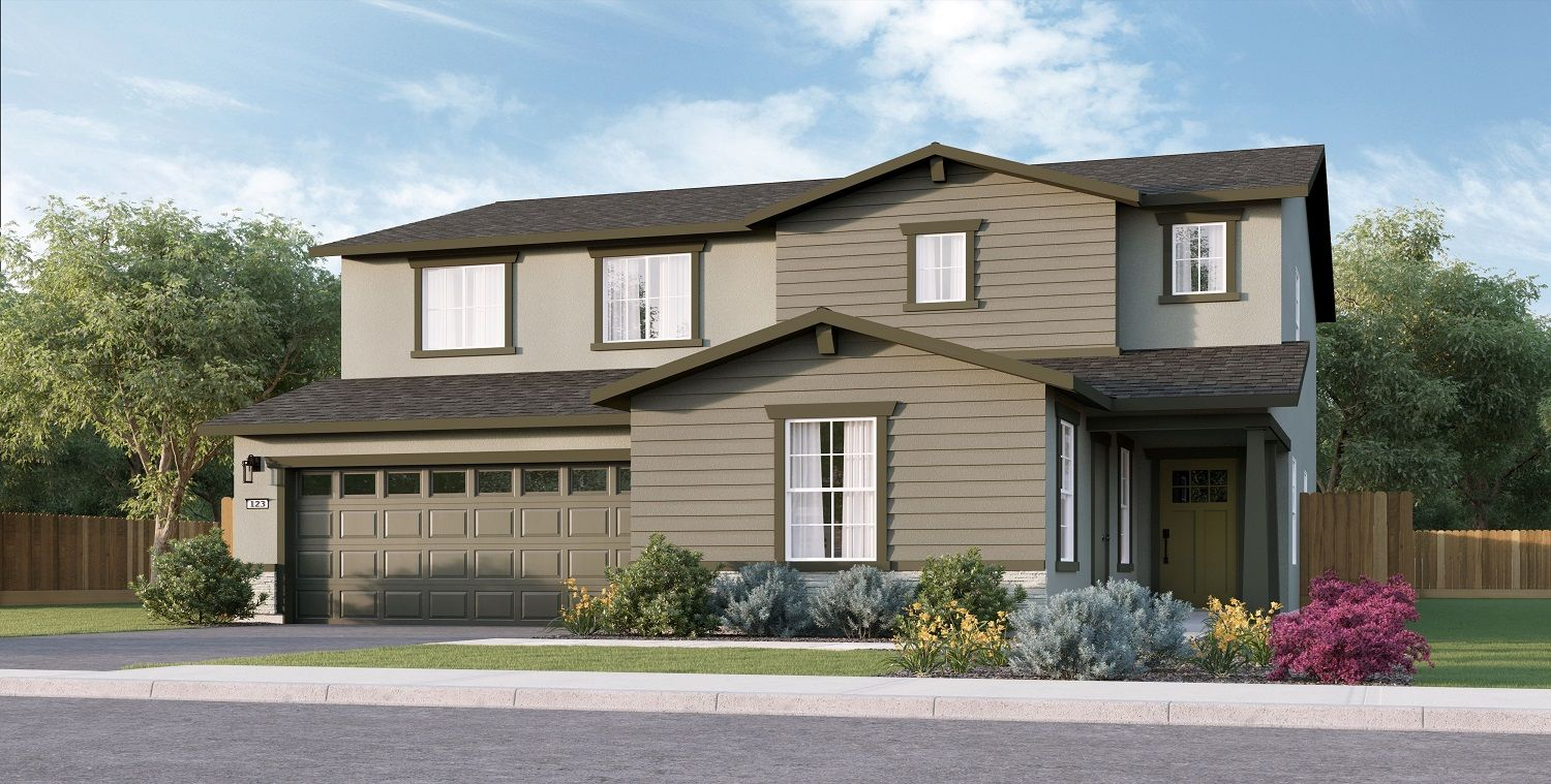 Exterior featured in the Lincoln By D.R. Horton in Bakersfield, CA