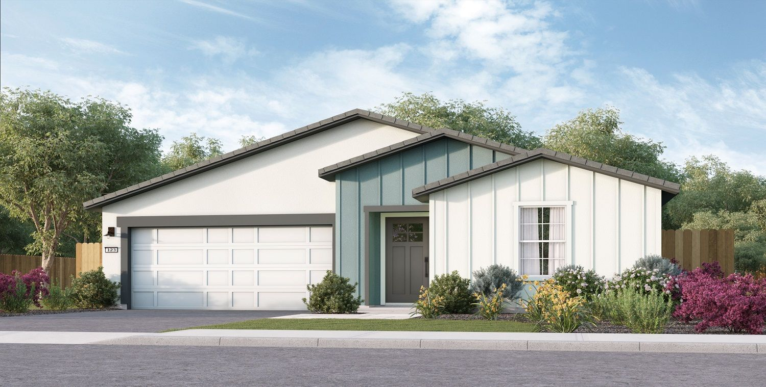 Exterior featured in the Coolidge By D.R. Horton in Merced, CA