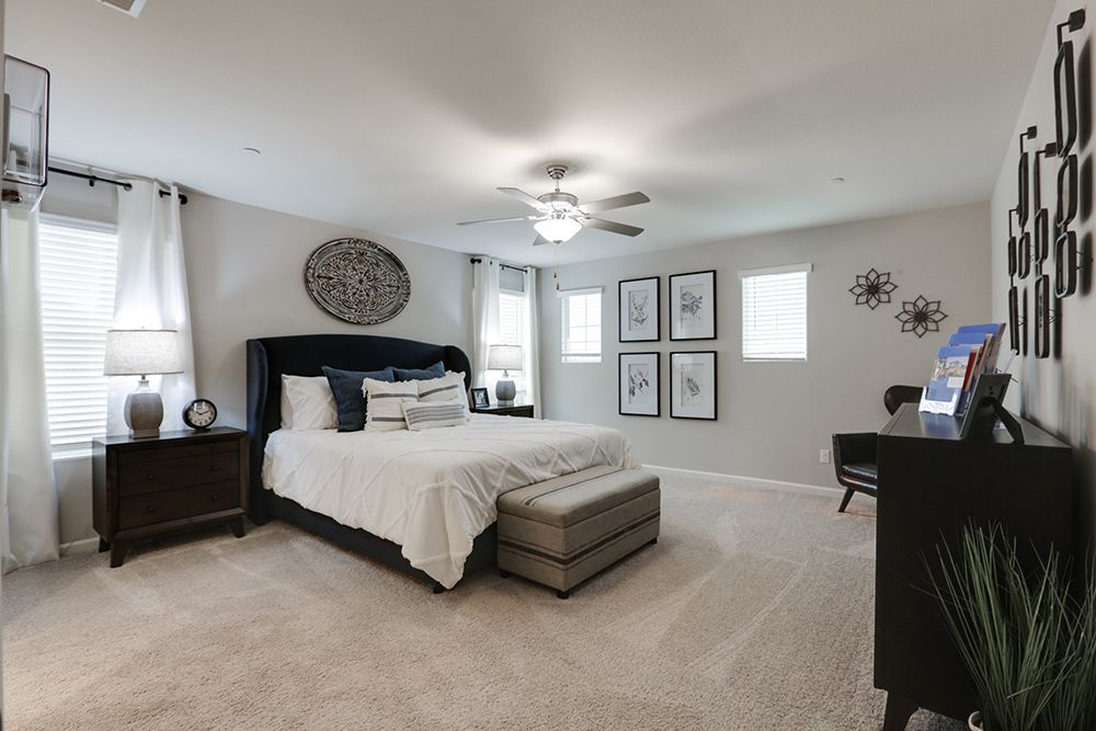 Bedroom featured in the Monroe By D.R. Horton in Visalia, CA