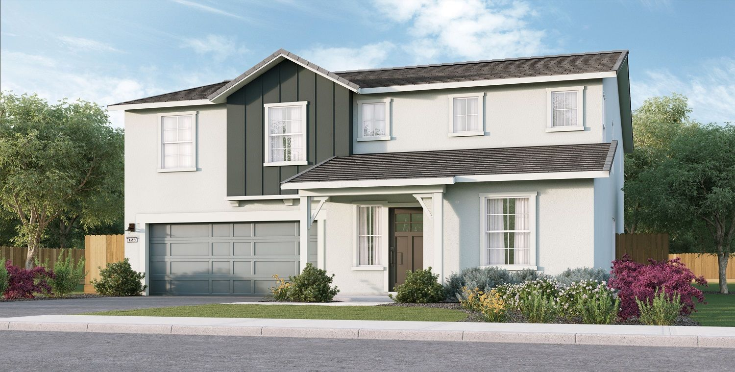 Exterior featured in the Monroe By D.R. Horton in Merced, CA