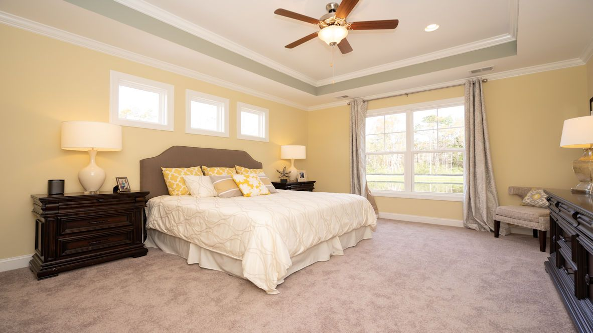 Bedroom featured in the TRIVECTA By D.R. Horton in Wilmington, NC