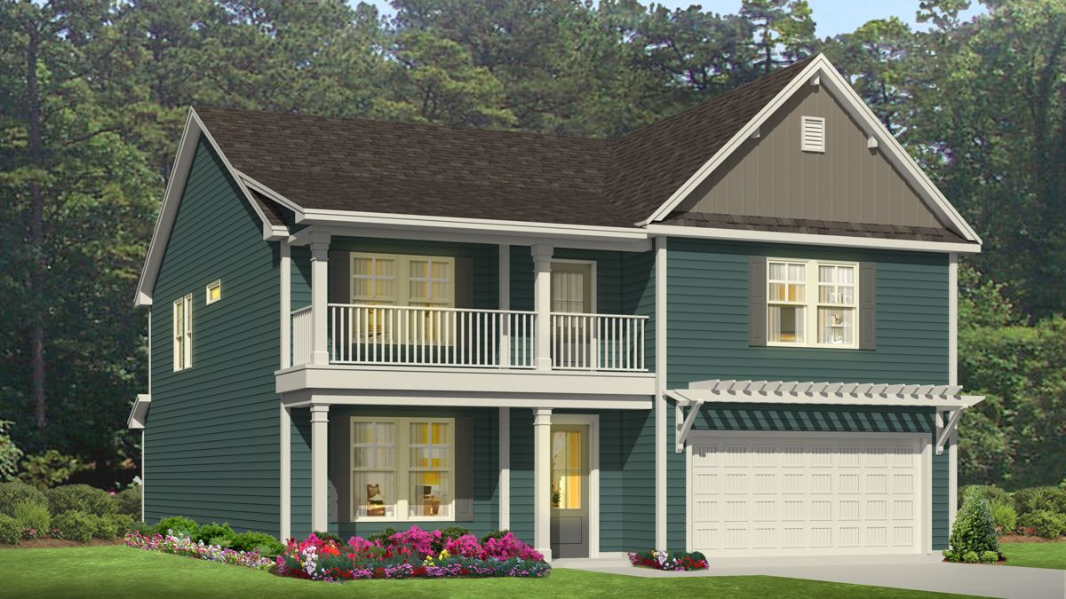 Exterior featured in the TILLMAN By D.R. Horton in Wilmington, NC