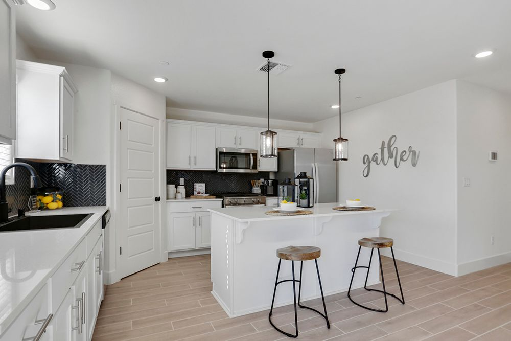 Kitchen featured in the Lincoln By D.R. Horton in Bakersfield, CA