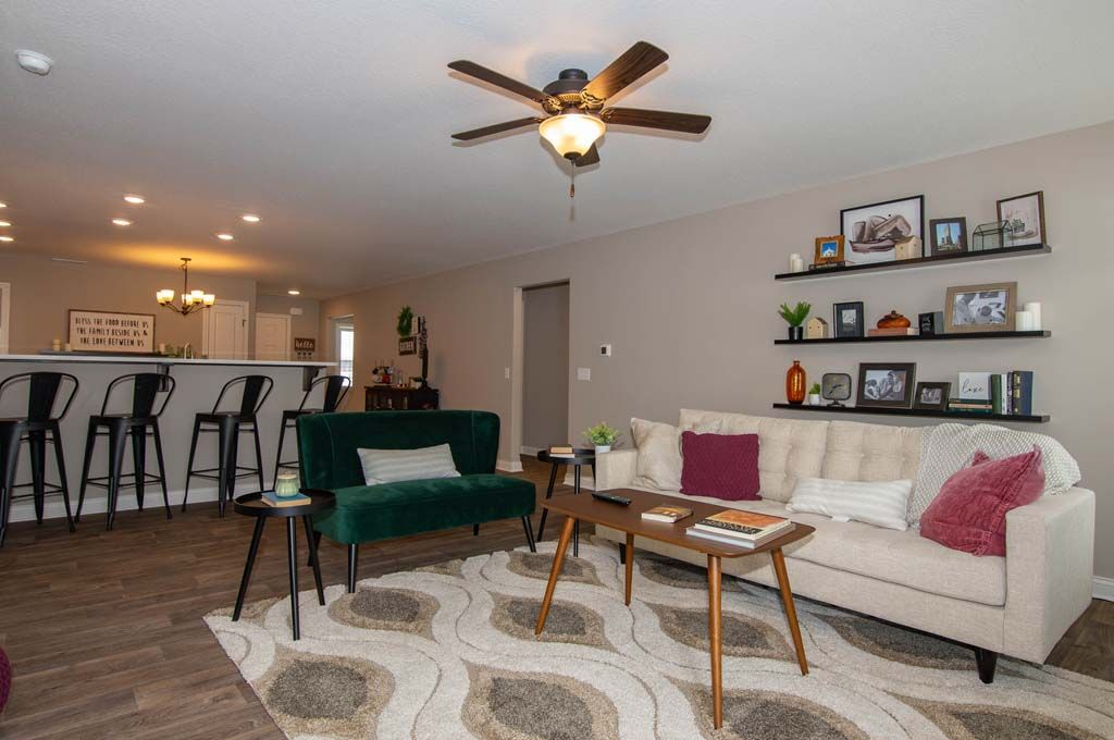 Living Area featured in the Lafayette By D.R. Horton in Fort Wayne, IN