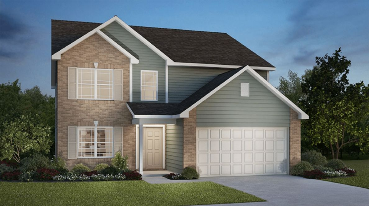 Exterior featured in the Addison By D.R. Horton in Fort Wayne, IN