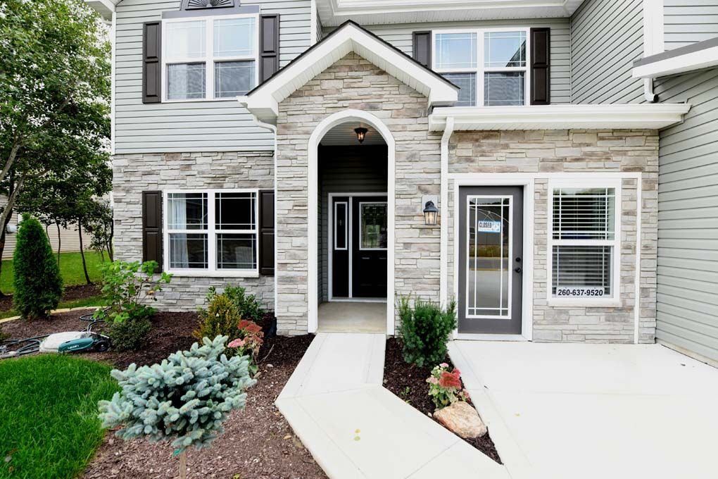 Exterior featured in the Campton By D.R. Horton in Fort Wayne, IN