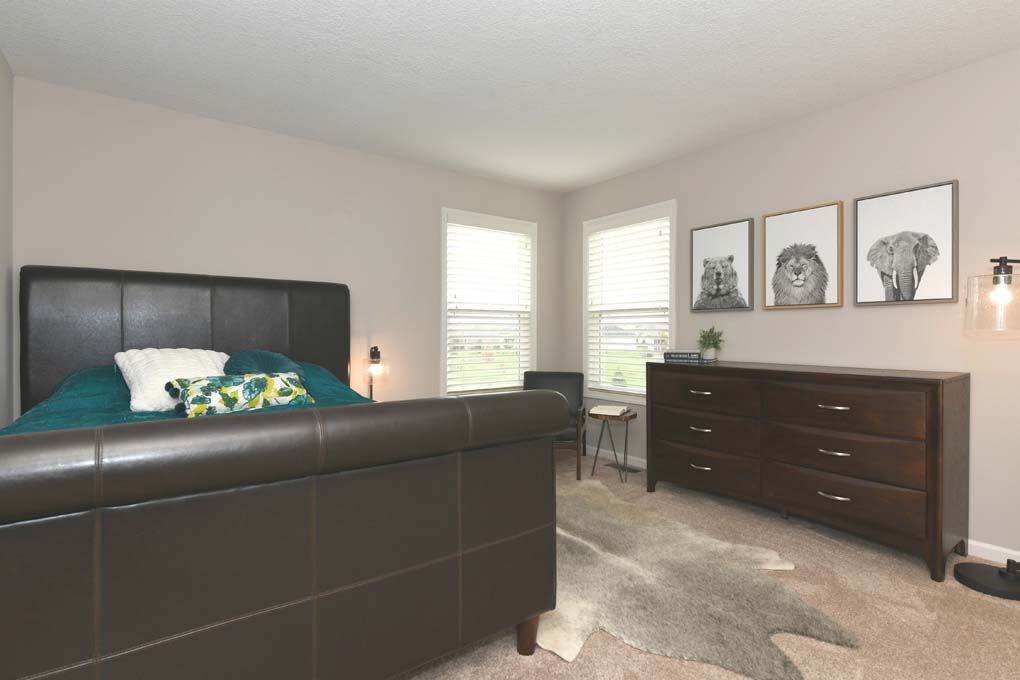 Bedroom featured in the Campton By D.R. Horton in Fort Wayne, IN