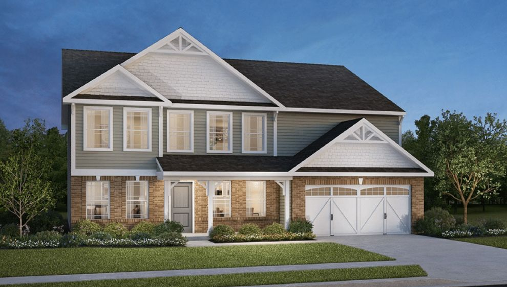 Exterior featured in the Denali By D.R. Horton in Fort Wayne, IN