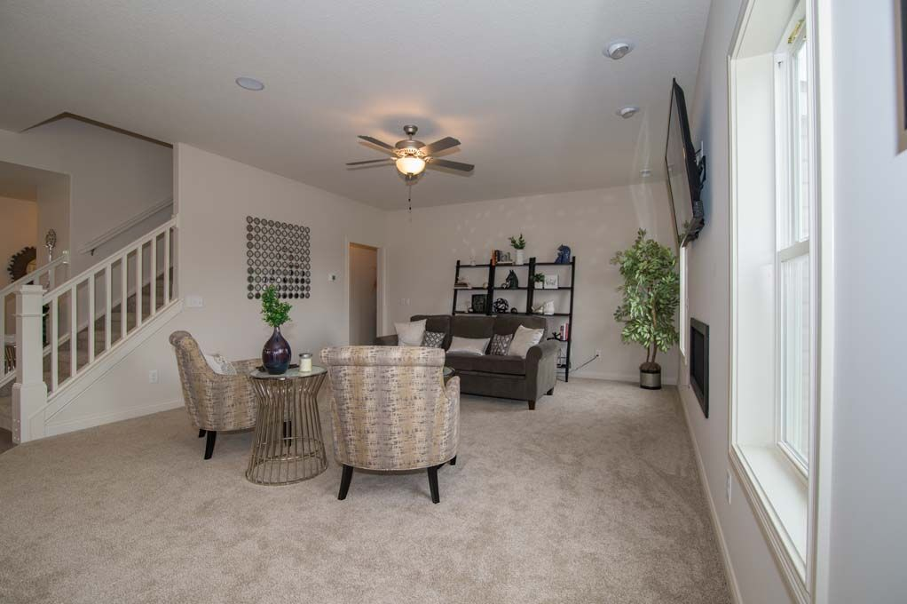 Living Area featured in the Fairfield By D.R. Horton in Fort Wayne, IN