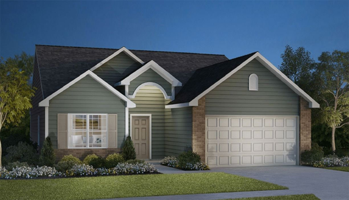 Exterior featured in the Lafayette By D.R. Horton in Fort Wayne, IN