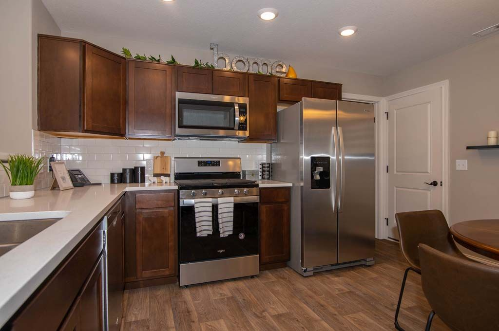 Kitchen featured in the Lafayette By D.R. Horton in Fort Wayne, IN