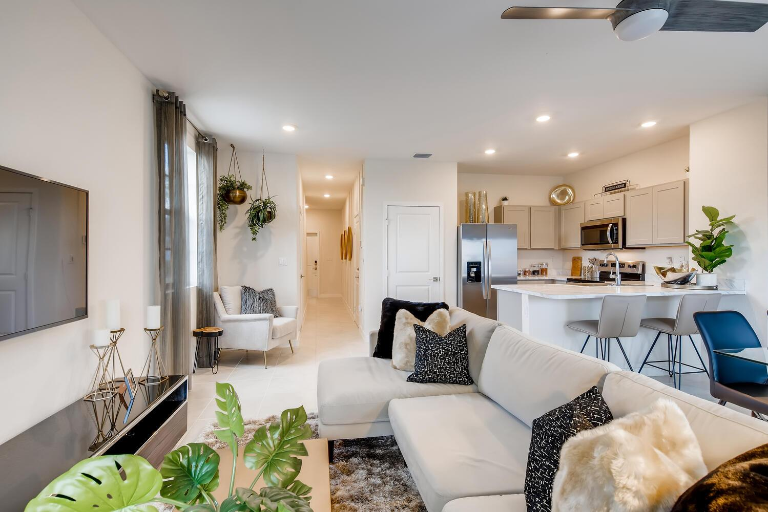 Living Area featured in the Terra By D.R. Horton in Miami-Dade County, FL