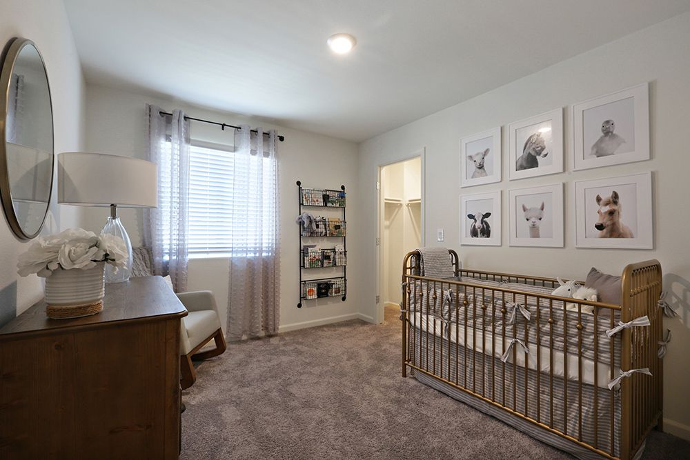 Bedroom featured in the Lincoln By D.R. Horton in Merced, CA
