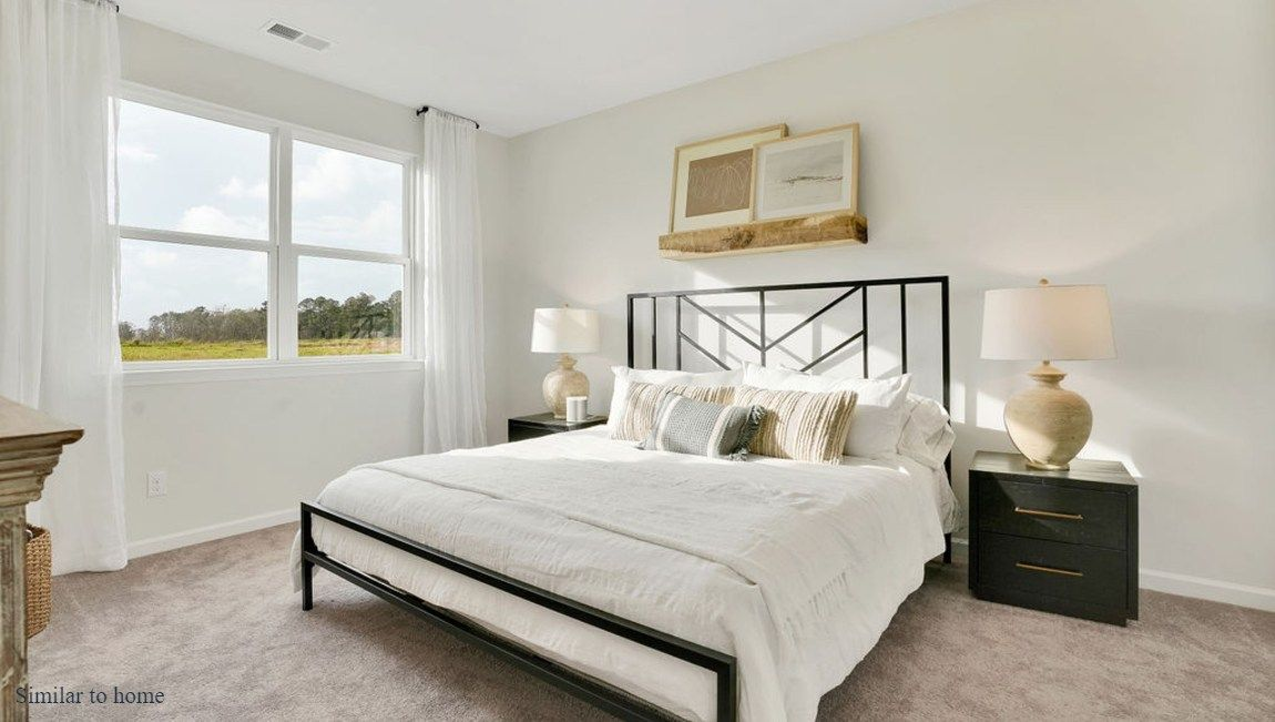Bedroom featured in the CALI By D.R. Horton in Wilmington, NC